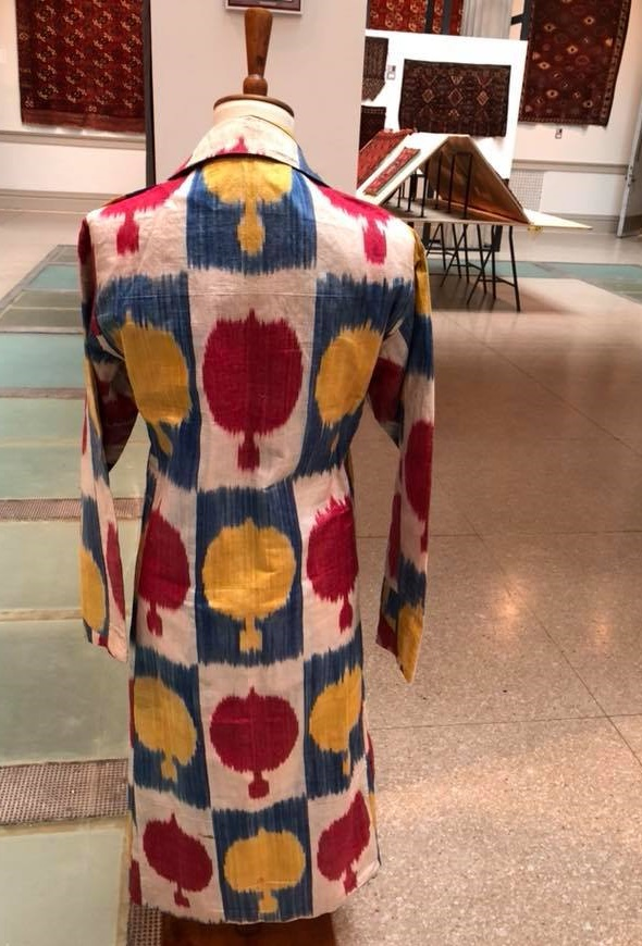 Central Asian ikat coat ICOC Washington DC 2018
