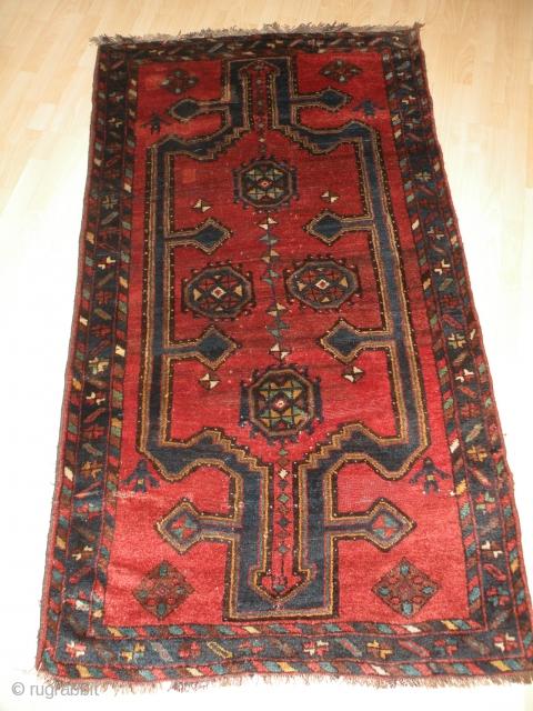 Old Persian Kurdish rug 112x195 cm