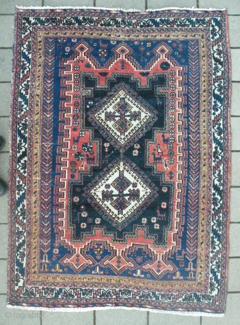 Persian Afshar, 124x172 cm