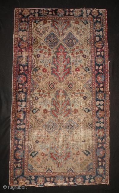 Tabriz rug 76 x 137 cm