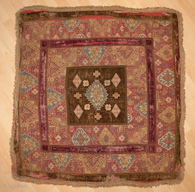 Eastern European Textile, 111x117 cm