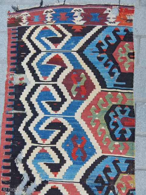 Antique West Anatolian Kilim Part