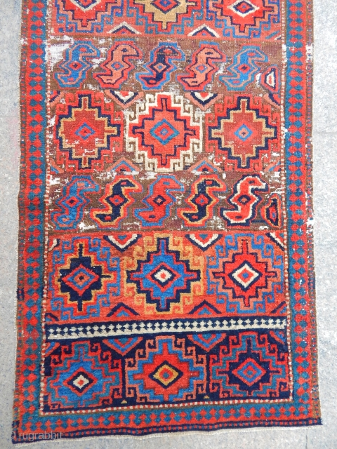 Antique Sahsavan Rug