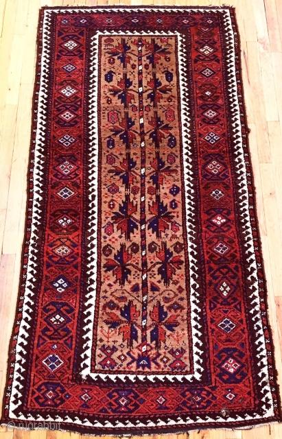 Antique Wonderfull Baluch Rug