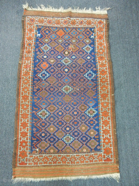 Antique Baluch Rug