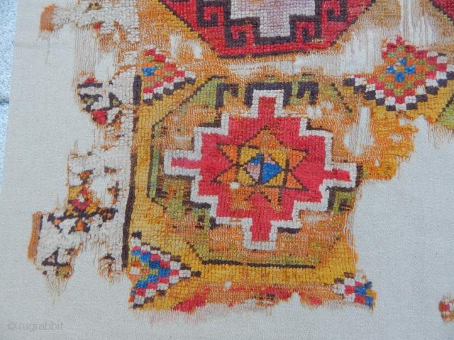 Antique Cappadocia Carpet fragment