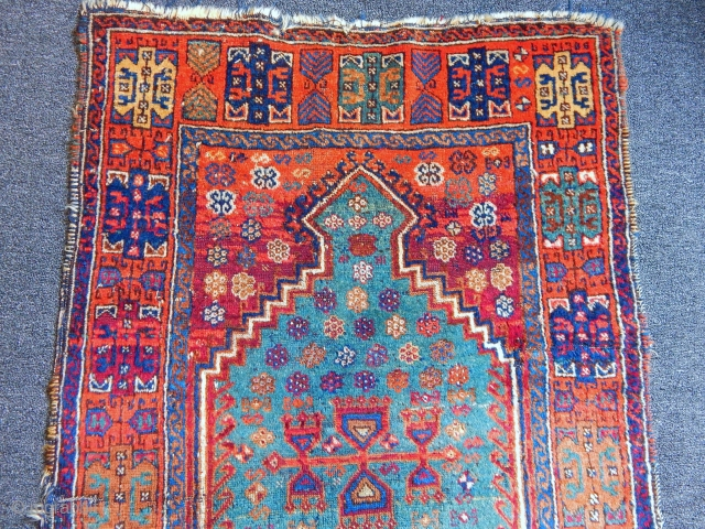 Old East Anatolian Prayer Rug