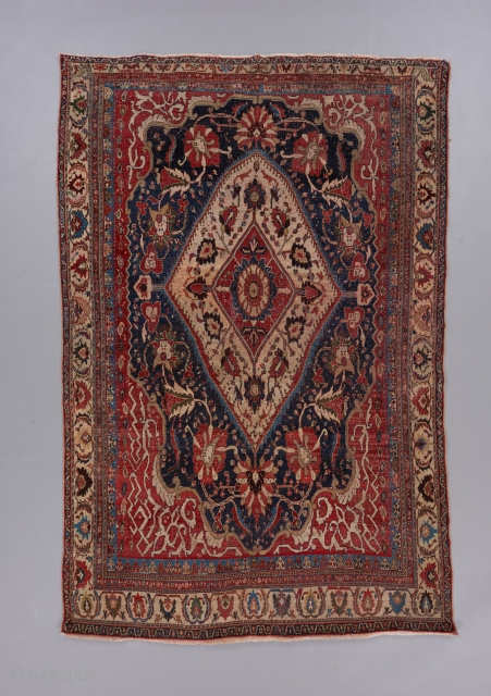 "Finely woven, beautiful Kashkuli Qashqai. Red wefts. 6'1"" x 4'1"". 