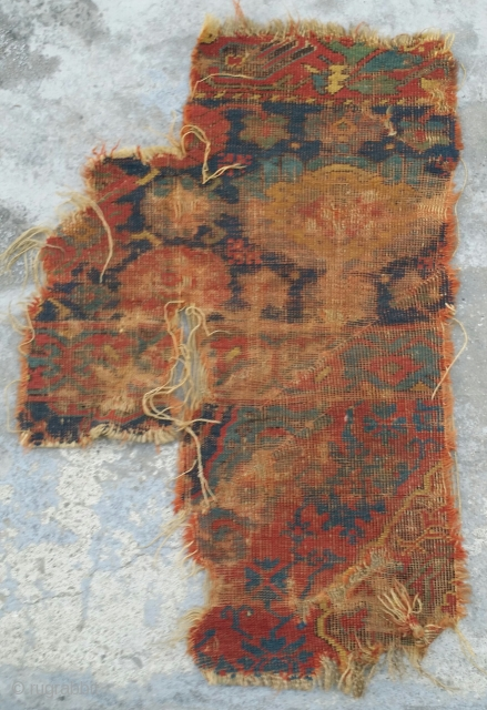 Classiacal Ushak Carpet Fragment