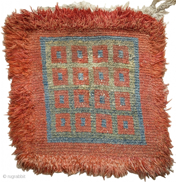 Tibetan Wangden type warp-faced back seating square. (apx. 3 feet square)
