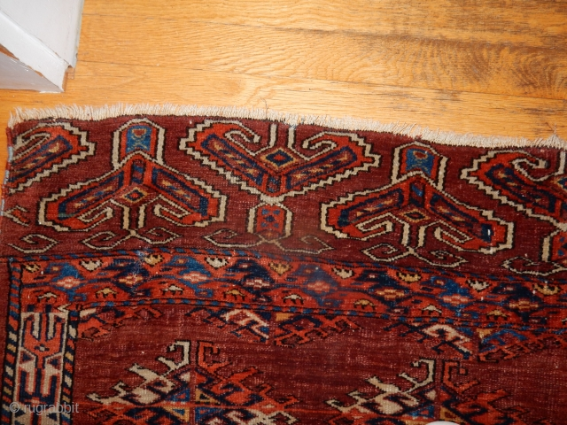 YOMUD YOMUT SMALL CARPET- GOOD SKIRT DESIGN- ESTATE RUG-  SIZE 5 X 6 FEET