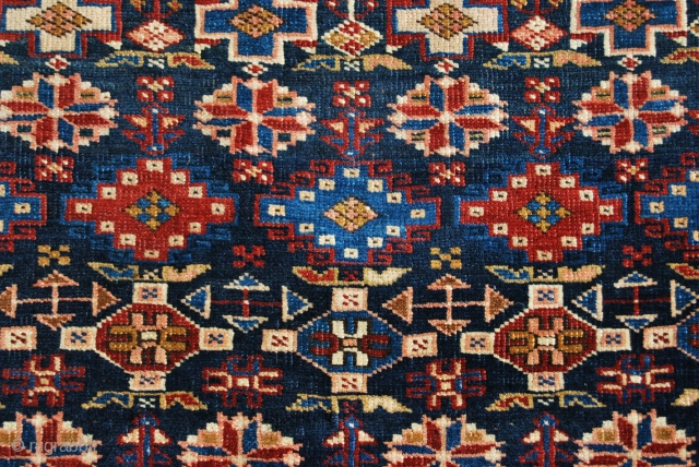 Kuba Chi-Chi rug, cm 125x185, early 20th century, good condition. See more pics on fb: