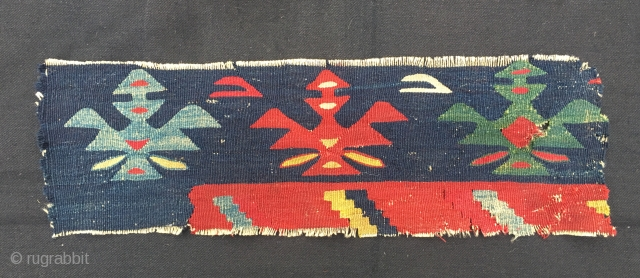 Sarkoy kilim fragment. 2nd half 19h c. Simply wonderful.
