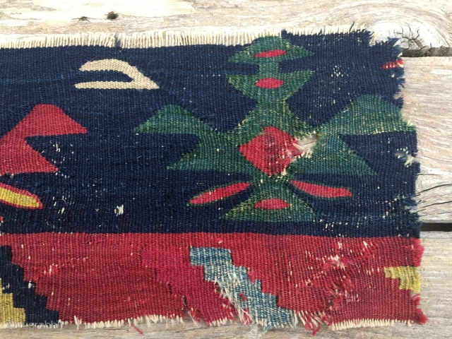 Sarkoy kilim fragment. 2nd half 19h c. Simply wonderful.