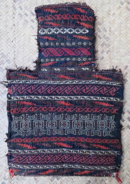 Baluch flatweave salt bag  54 x 34 cm