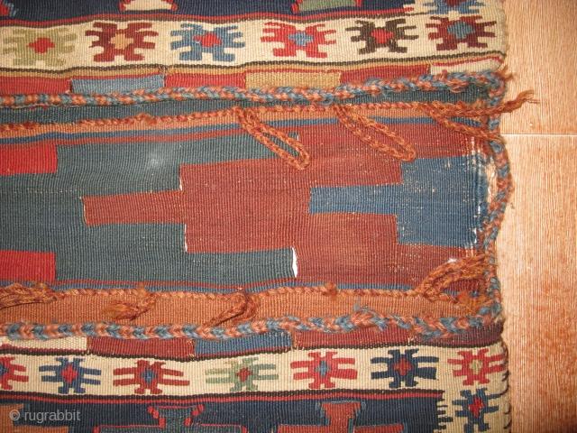 4638-shahsavan kilim saddlebag 143x58