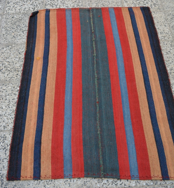 qashqai pelas made by imanlu tribes,with 2 tiny repaires by them,Size:160x120 cm