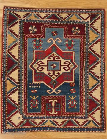 Fachralo Kazak prayer rug, Southwest. Caucasus, circa 1885. See it at Arts, October 27-29 in San Francisco. http://artsrugshow.net/