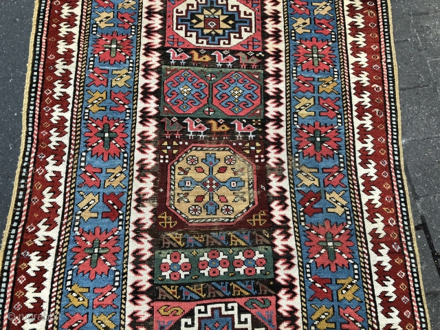 19th Century NW Persian Runner size 110x385 cm