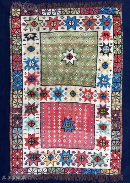 Mid 19th Century Karapinar Yastik size 56x82 cm
