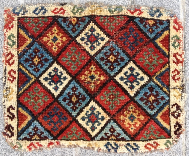 Early 19th Century Qashqai size 43x53 cm