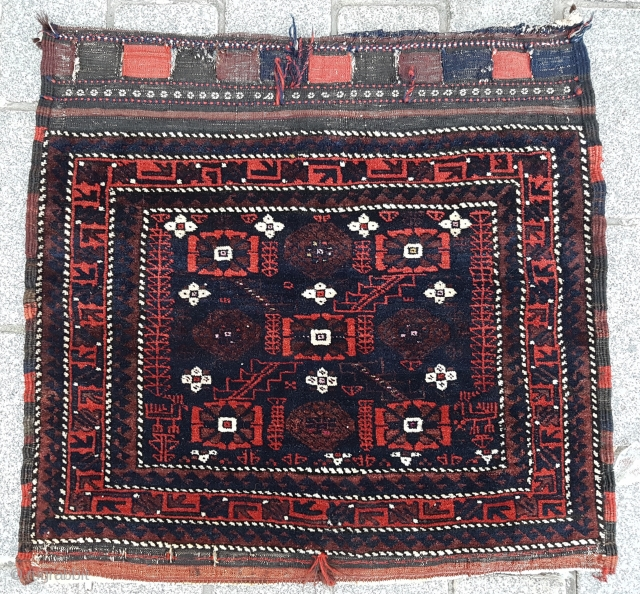 Late 19th Century Baluch size 74x78 cm