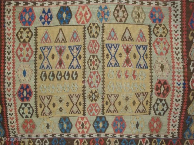 Anatolian small kelim  with 4 Boxes