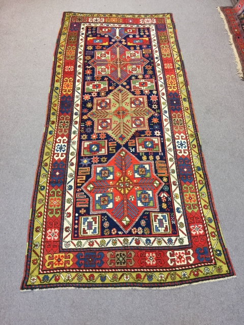 Multicolored Akstafa  1.20 x 2.75