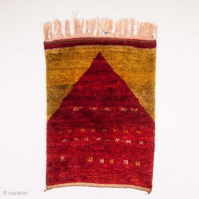 "Central Anatolian Tulu Rug Size:96 x 130        3'2"" x 4'4"""
