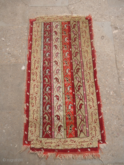 """yastik with stripe design and good colors,Size 3*1'2"""".E.mail for more info and pics."""