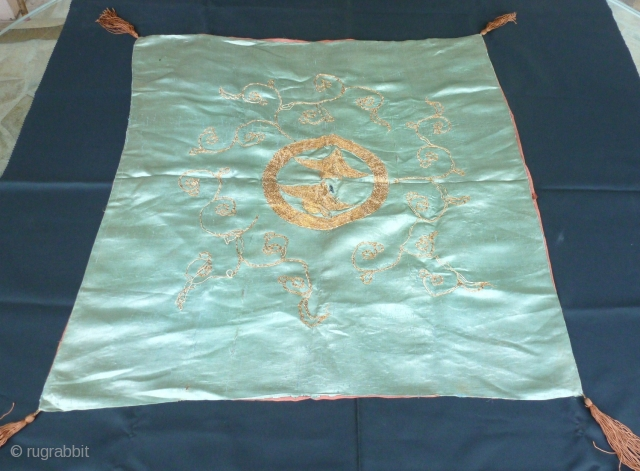 Panel  embroidery silk 66 x 68