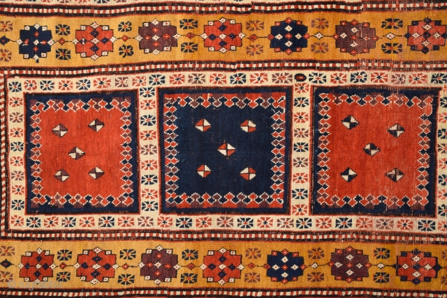 An Unusual Caucasian circa 1830s or little more early Size 110 x 200 cm