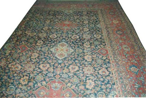 "Persian Over size carpet, circa 1918 antique. Size: 926 x 620 (cm) 30' 4"" x 20' 4"" 