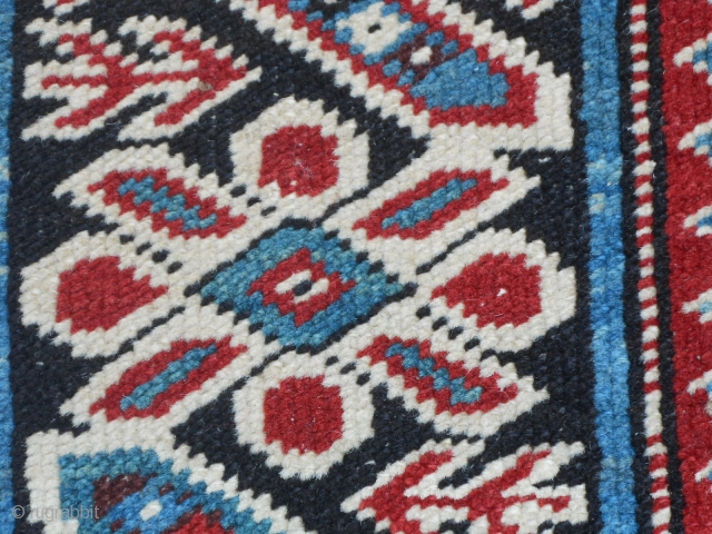 Antique Kurdangool TCHI-TCHI Caucasus Kuba carpet. Very, very good condition.  Original piece in condiion like new carpet. All original ends and selvedges. Shiny colors and very fine knot.  Size  cm. 266 x  ...