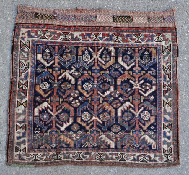 """Afshar bagface - 29"""" x 26"""" - 74 x 66 cm."""