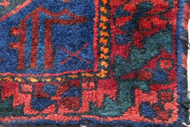 "Afshar bag complete, great colors and condition. size: 16"" X 13"" -- 41 xm X 33 cm"