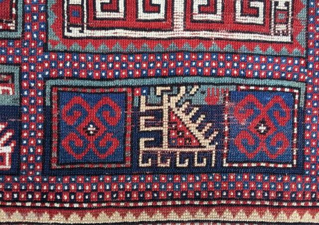 Antique karachof rug,170 x 95 cm