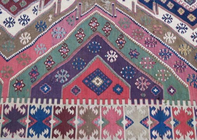 Anatolian kilim frgament,360 x 85 cm
