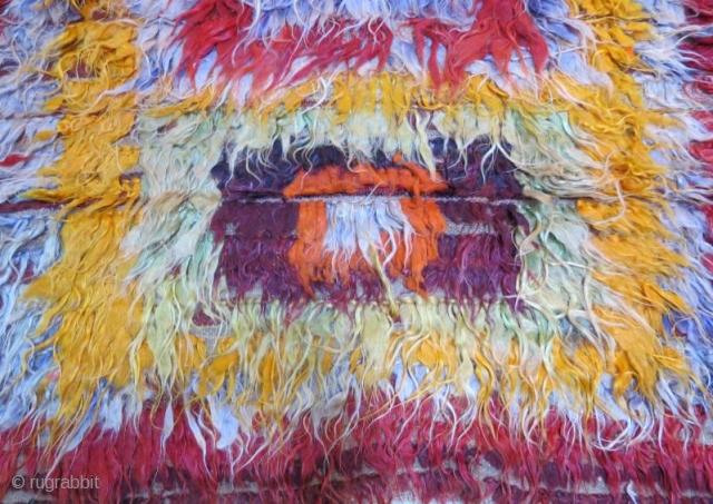 Central Anatolian Tullu rug .154 x 124 cm