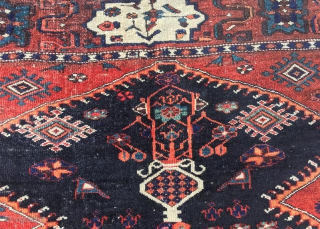 Antique bahtiyari rug,270 x 145 cm  www.eymen.com.tr