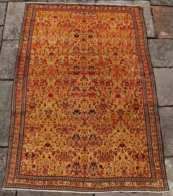 Extremely fine persian town rug. Could be senneh, fereghan or even tehran. Either way its a high quality piece in good pile. 196 x 133cm.