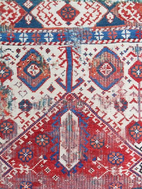 Rare, small West Anatolian (mini Transylvanian) prayer rug. 18th C. or older.