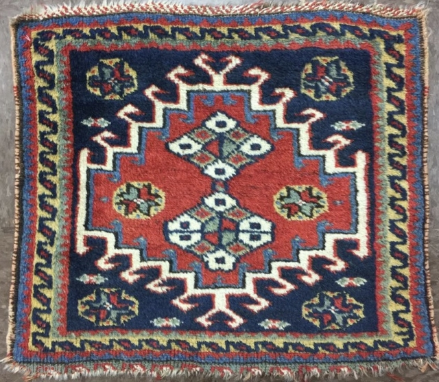 Antique Nord West Persian Bagface Size.58x50cm