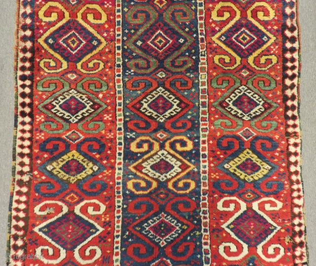 Early 19th Century East Anatolian Erzurum Rug Size.215x115cm