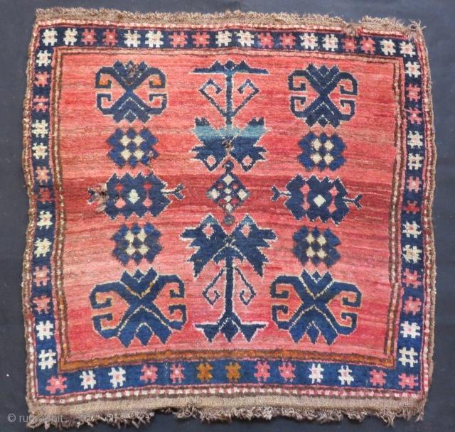 Antique Kırgız Bagface Rug Size.72x67cm