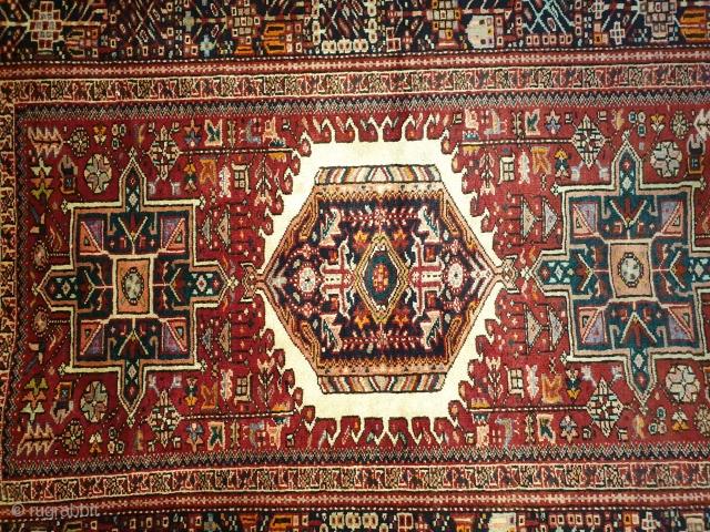 Antique qaraja rug Excellent condition
