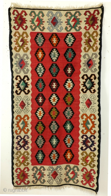 Sarkoy kilim. 125 x 63 Cnm. 