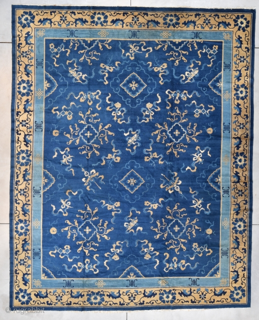 #7781 Antique Peking Chinese Rug