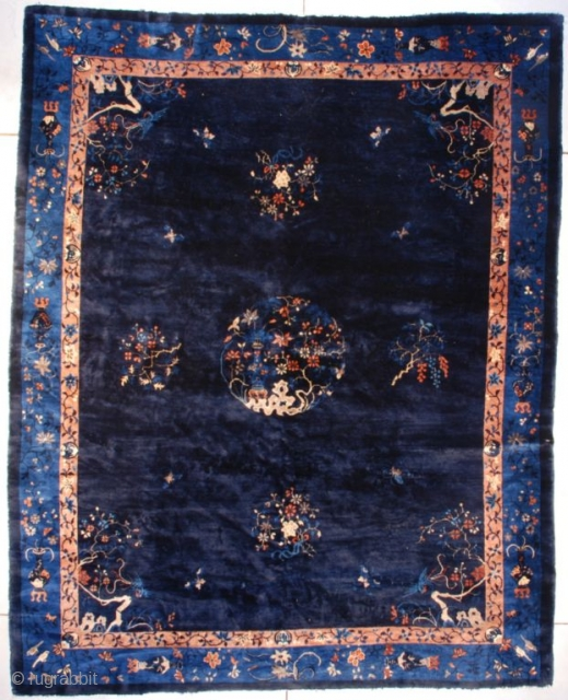 #7613 Art Deco Chinese Rug