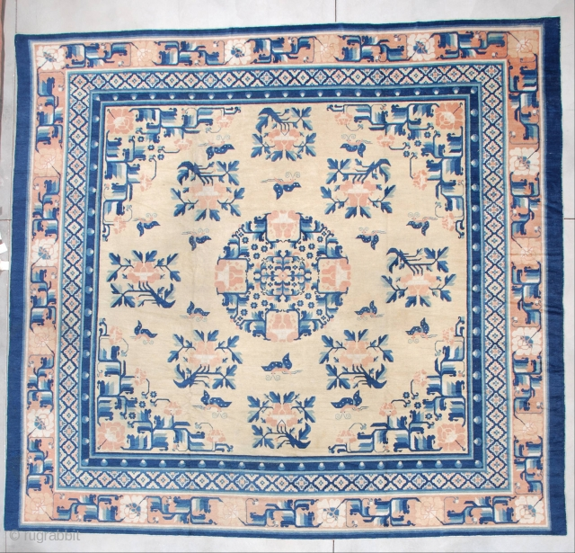 #7256 Ningxia Chinese antique Rug